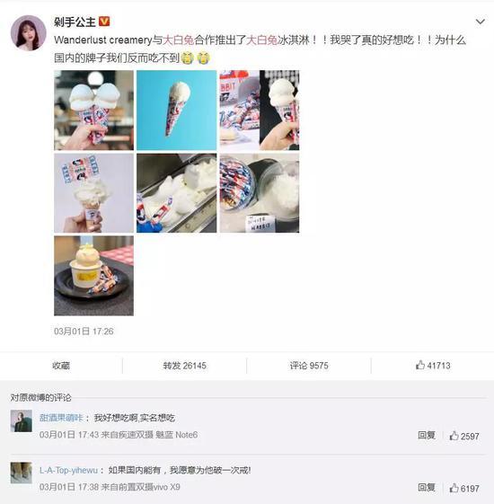 大白兔冰淇淋侵权 热点 热图3