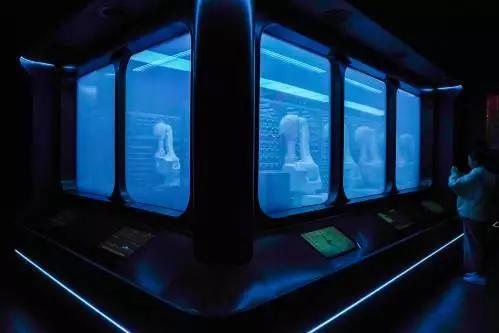 ▲图为一家运用人工智能的北京智慧火锅餐厅(新华社)