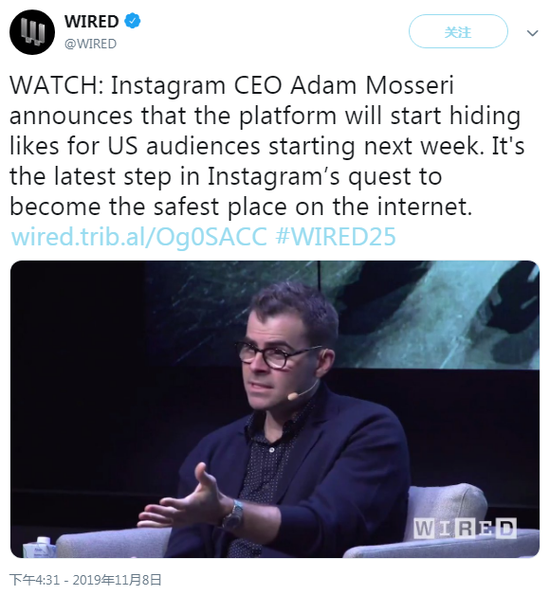 Instagram CEO Adam Mosseri