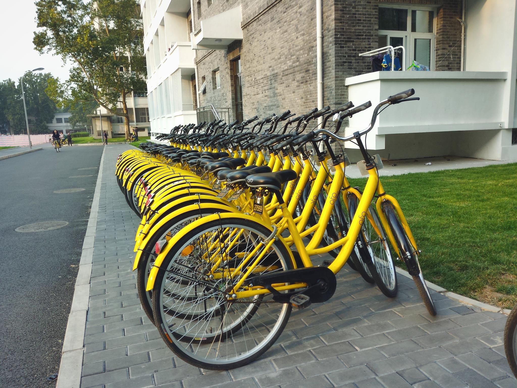 小黄车马德里黯然退场 自行车坟地成城市怪异新地标