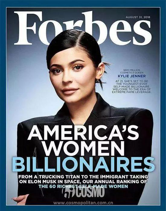《Forbes》封面