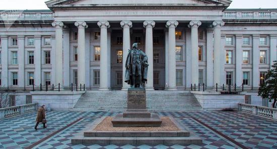 美财政部预计在暂停债务上限后8周内发债1600亿美元