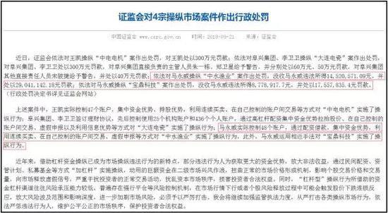 配资处罚 证监会1.4亿罚单引温州帮争议 温州媒体:不能再背锅