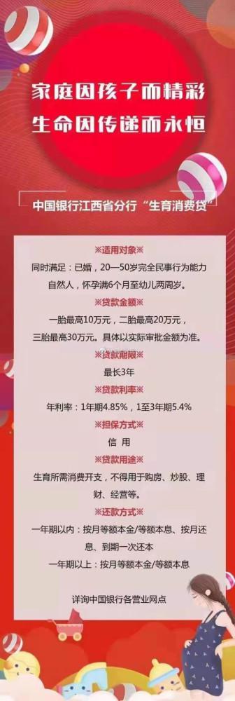 """中国银行被曝推出""""三胎贷"""":最高可贷30万元"""
