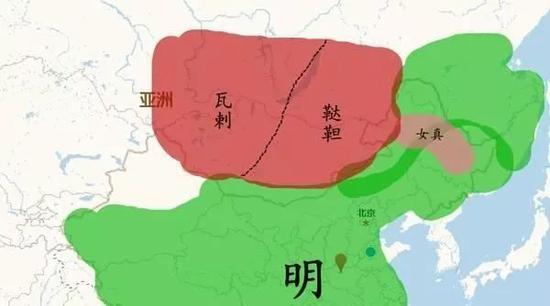 明朝与北部少数民族政权