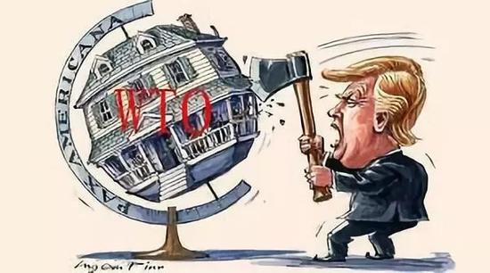 特朗普又要退群 这回是世贸组织