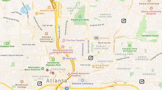 蘋果兌現承諾 改進版Apple Maps已在年底前覆蓋美國