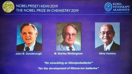 刚刚诺贝尔化学奖揭晓 A股锂电池板块应该欢庆一下