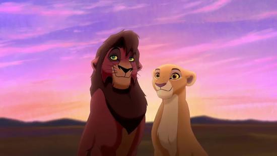 封面题图 |《狮子王 2:辛巴的荣耀》
