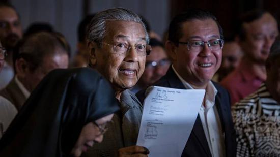 外媒:马来西亚希望中国对马东海岸铁路大幅降价