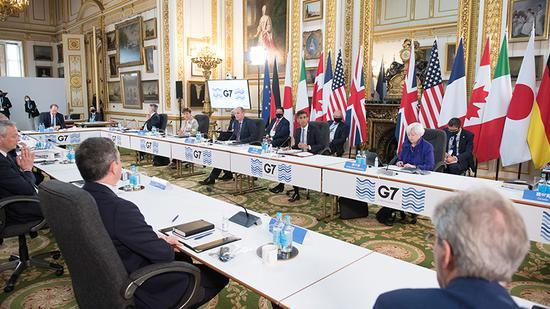 G7就全球最低企业税率达成一致 美欧各有何算盘?