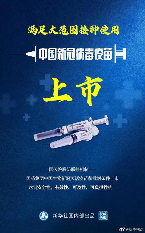"""中国新冠疫苗获批上市 这些A股也""""嗨了"""""""