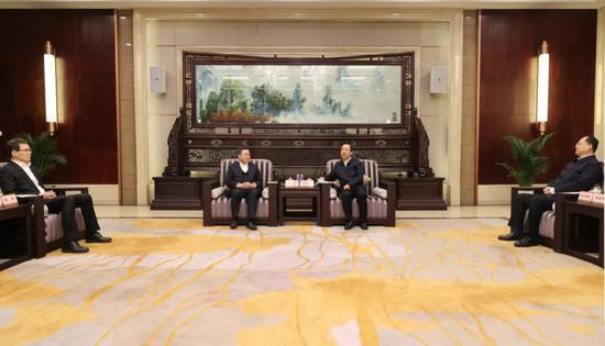 工商银行与湖南省政府签署战略合作协议