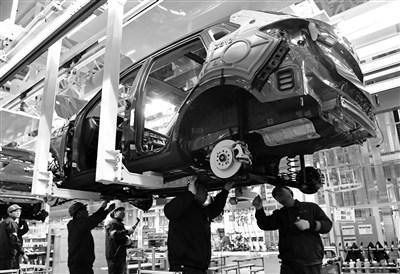 虽然汽车行业的利润率在制造行业中属于偏高,但与一些互联网科技巨头相比,造车的利润率还是显得逊色不少 视觉中国图