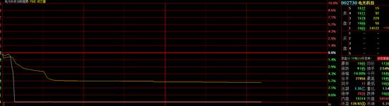 """电光科技开盘9分钟闪崩跌停:10636名股东""""躺枪""""网友炸锅:杀猪盘"""