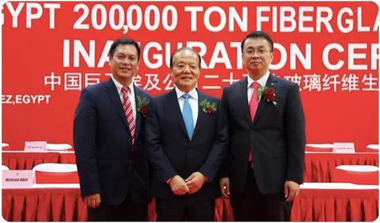 |张毓强和杨国明(右)、曹国荣(左)