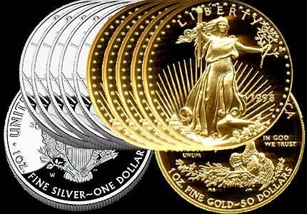 需求火爆 美国鹰扬金币和银币销量创纪录