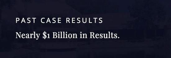 累计为客户争取到的赔偿金总计超过10亿美金
