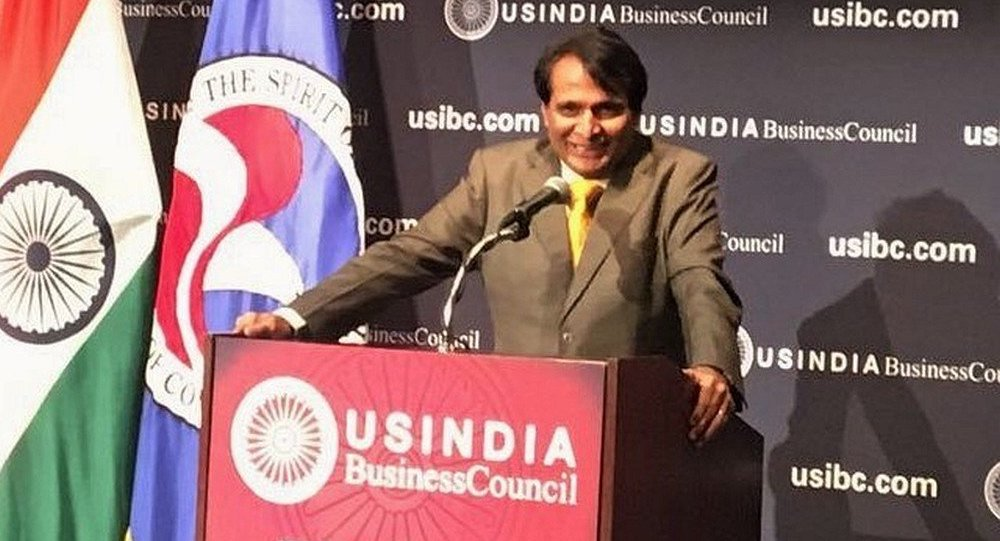 印度商工部长普拉布在接受卫星通讯社采访时表示,为了平衡印度与中国之间的贸易额,印度需要更大程度地进入中国市场。