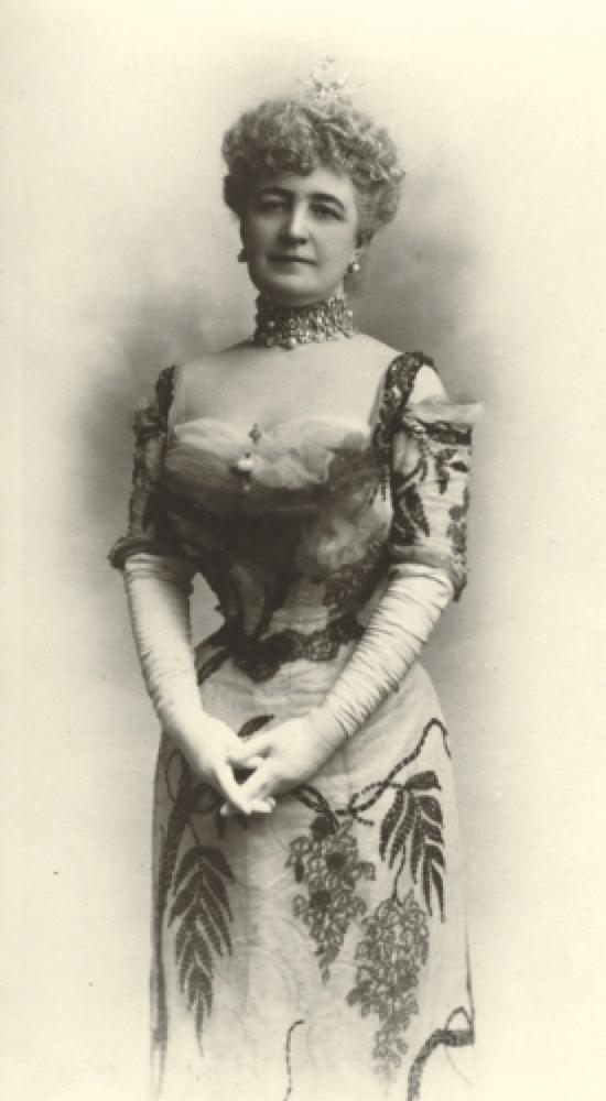 此次拍卖作品的首位收藏者BERTHA POTTER PALMER(图片来源:苏富比)