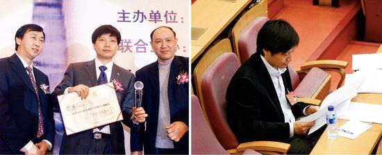 '劳模'雷军少年得志,但是大器晚成(左)