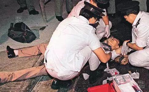 重傷被捕的葉繼歡,香港西環,1996年