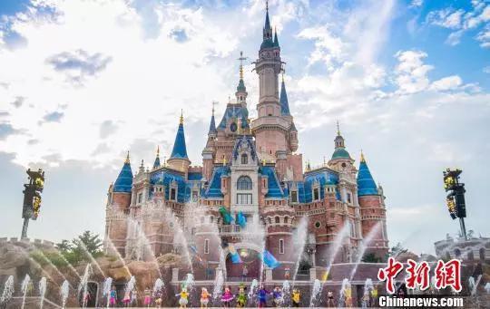資料圖:上海迪士尼度假區。