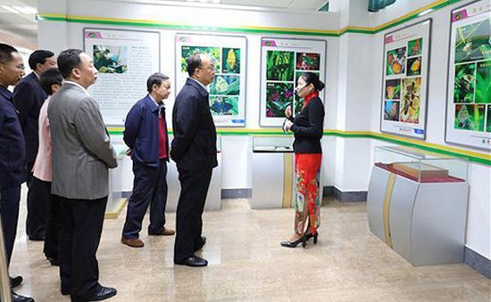 被通缉前不久,蒋兆岗还在陪同省委领导调研。