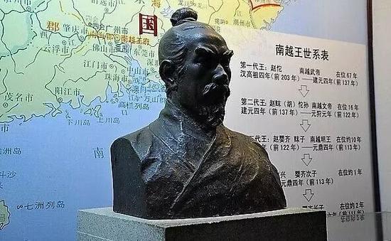 南越王赵佗(约前240年—前137年)