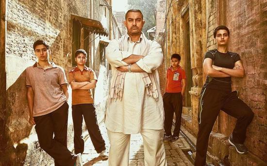 ▲《摔跤吧!爸爸》|印度不仅电影业发达