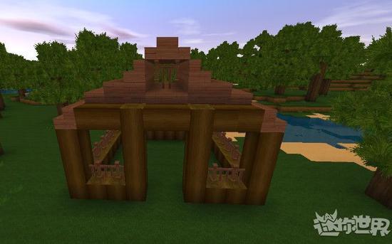 《迷你世界》游戏场景。图片来自游戏官方网站