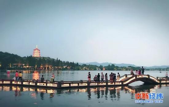 ▲杭州西湖 中新经纬 李晓萱摄