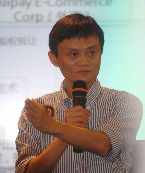 ▲ 2011年马云在支付宝媒体沟通会现场。图/新浪科技