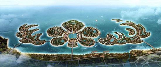 许家印投资1600亿的海花岛被叫停,生态监管风暴波及恒大