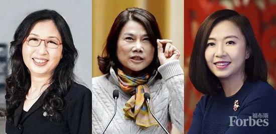 福布斯发布2018中国最杰出商界女性排行榜