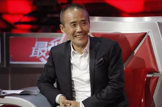▲2016年1月,王石在《最强大脑》节目录制现场