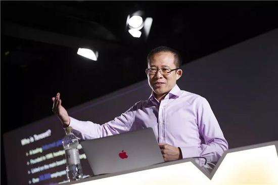 ▲腾讯执行董事刘炽平。图@视觉中国