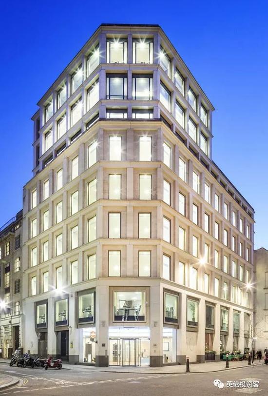 中国银行准备买入的60 Gresham Street大楼