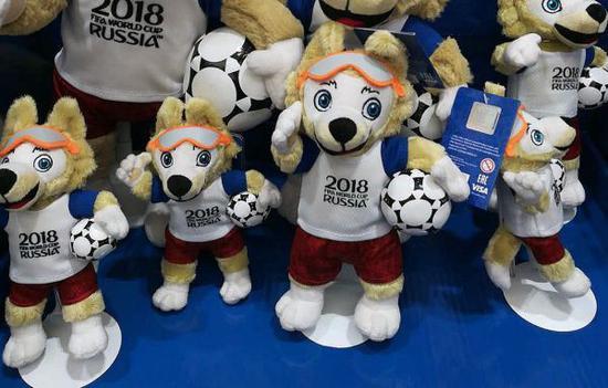 杭州孚德品牌管理公司負責本屆世界盃吉祥物的製作。(圖片來源:企業官網)