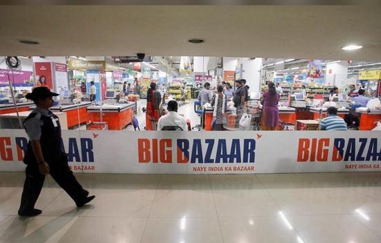 亚马逊将收购印度零售巨头Future Retail的3.58%股权