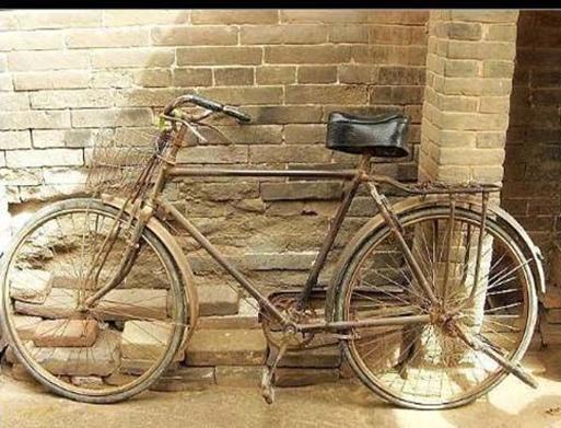 图8-1 80年代的自行车