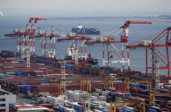 日本6月出口连续第七个月下滑 对华出口下降10.1%
