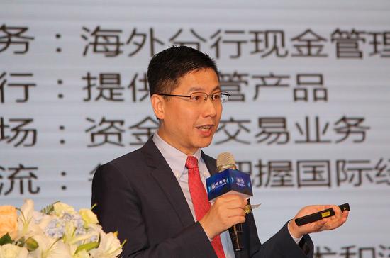 图为美国联合投资亚太区首席投资官黄郁葱