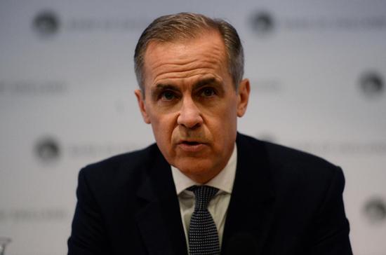 """英国央行行长卡尼:英国无协议退欧的风险""""高得惊人"""""""