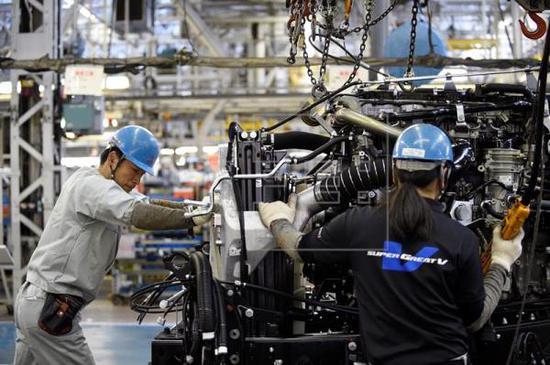 日本4月核心机械订单环比增长10.1%