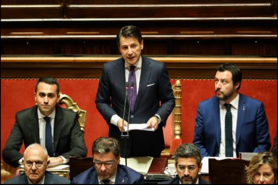 """意大利总理孔特月薪6700欧元 被称""""最穷总理""""孔特"""