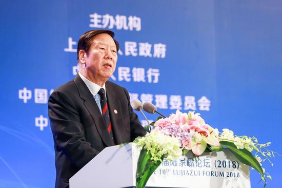 中国国际经济交流中心副理事长、中国人民银行原行长戴相龙