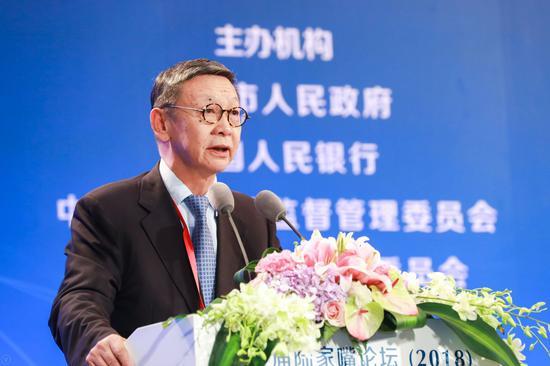 北方新金融研究院院长、中国银监会原副主席蔡鄂生