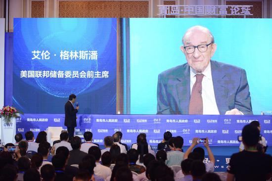 格林斯潘最新演讲:中国人为啥这么爱存钱?美国很迷惑