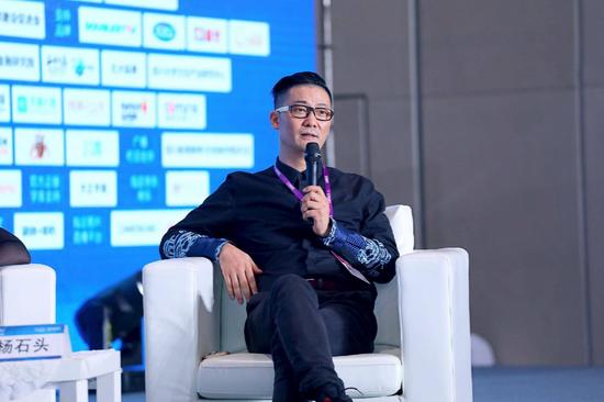 智立方品牌营销传播集群董事长兼CEO杨石头